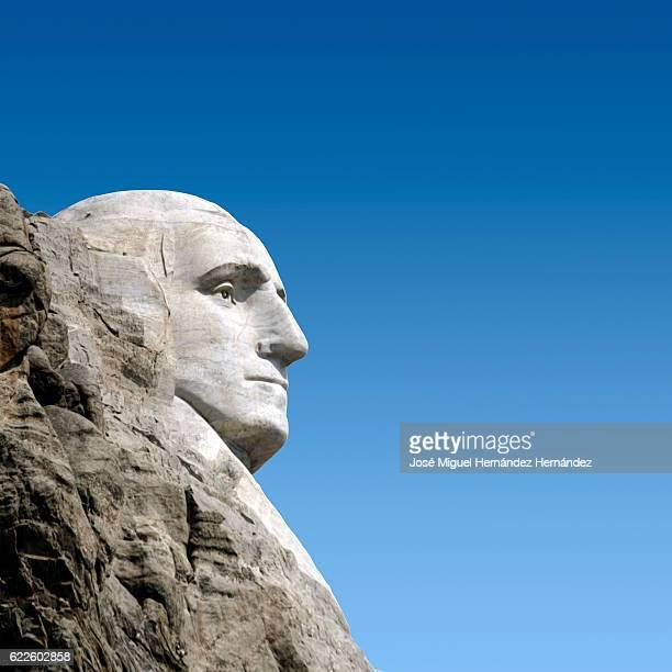 George Washington Mt. Rushmore National Memorial Illustration
