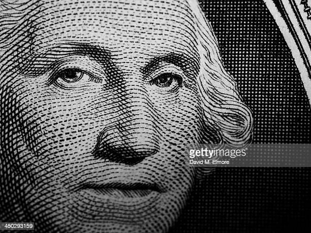 george washington - one dollar bill stock pictures, royalty-free photos & images
