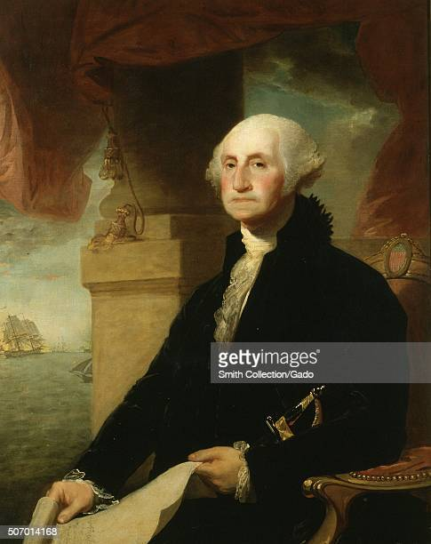 George Washington portrait painting by ConstableHamilton 1794 From the New York Public Library