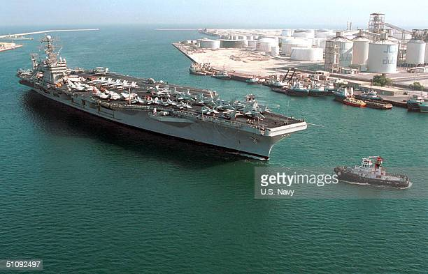 USS George Washington Prepares August 1 To Pull In To Jebel Ali In The United Arab Emirates For A Scheduled Port Visit Washington Is Operating In The...