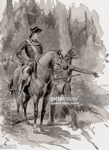 George Washington receives a message from chief HalfKing whilst travelling from Alexandria to Wills Creek in 1754 at the start of the French and...