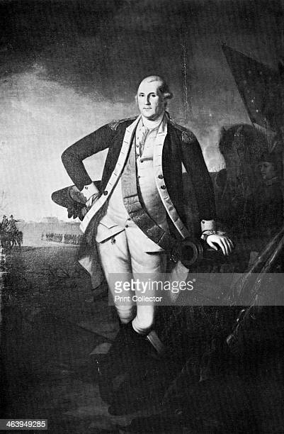 George Washington, the first President of the United States, . Washington was President from 1789 until 1797.