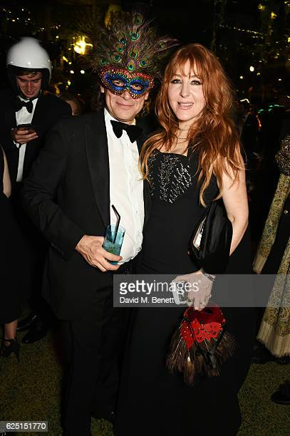 George Waud and Charlotte Tilbury attend The Animal Ball 2016 presented by Elephant Family at Victoria House on November 22 2016 in London England