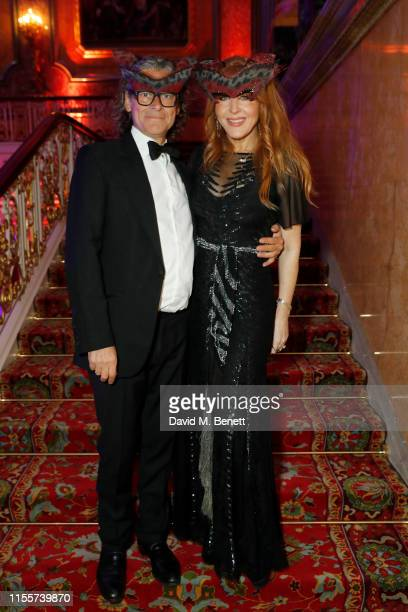 George Waud and Charlotte Tilbury attend The Animal Ball presented by Elephant Family at Lancaster House on June 13 2019 in London England