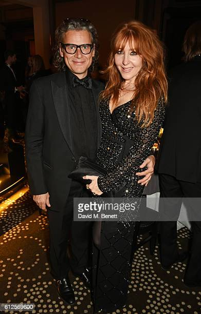 George Waud and Charlotte Tilbury attend the IWC Schaffhausen Dinner in Honour of the BFI at Rosewood London on October 4 2016 in London England