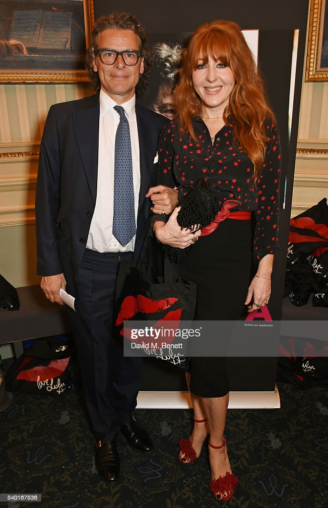 George Waud (L) and Charlotte Tilbury attend the 'People, Places & Things' Charity Gala in aid of Action On Addiction at Wyndhams Theatre on June 14, 2016 in London, England.