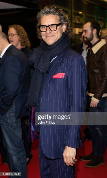 George Waud attends An Accidental Studio pre premiere screening at The Curzon Mayfair on March 27 2019 in London England