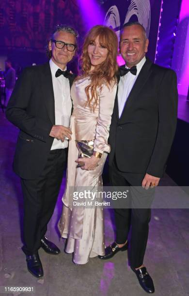 George Waud Charlotte Tilbury and DJ Fat Tony attend the the GQ Men Of The Year Awards 2019 in association with HUGO BOSS at the Tate Modern on...
