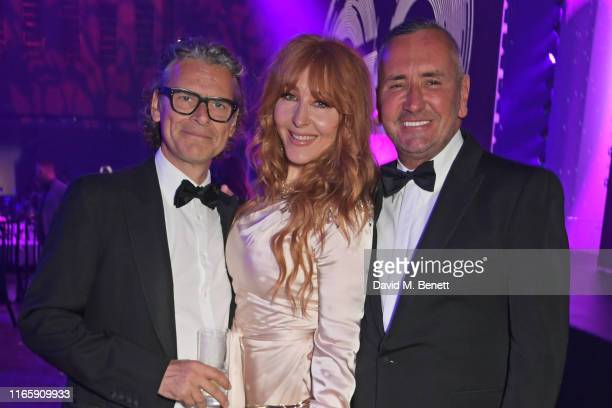 George Waud Charlotte Tilbury and Fat Tony attend the the GQ Men Of The Year Awards 2019 in association with HUGO BOSS at the Tate Modern on...