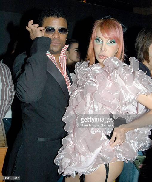 George Wayne and Sophia Lamar during Crobar Presents George Wayne's Downtown 100 List Celebration at Crobar in New York City New York United States