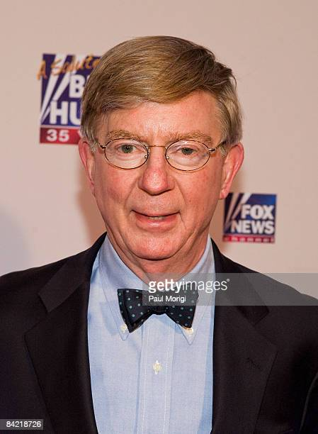 George Will attends salute to Brit Hume at Cafe Milano on January 8, 2009 in Washington, DC.