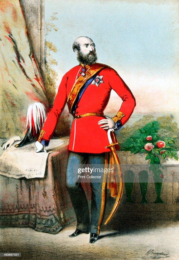 George William Frederick Charles, 2nd Duke of Cambridge, British soldier, c1855. : News Photo