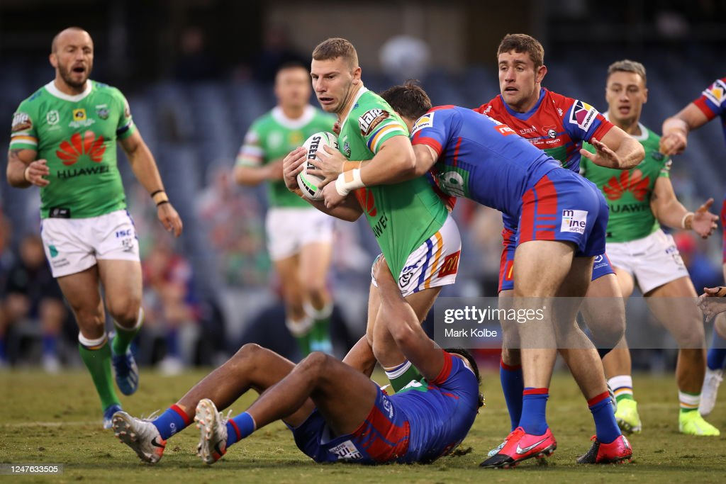 NRL Rd 4 - Raiders v Knights : News Photo