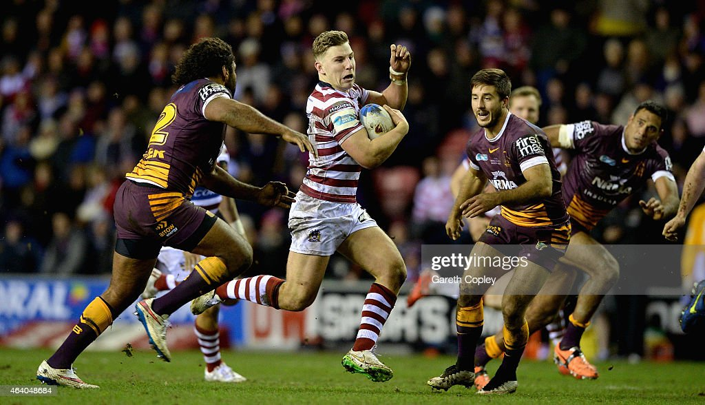Wigan Warriors v Brisbane Broncos - World Club Series : News Photo