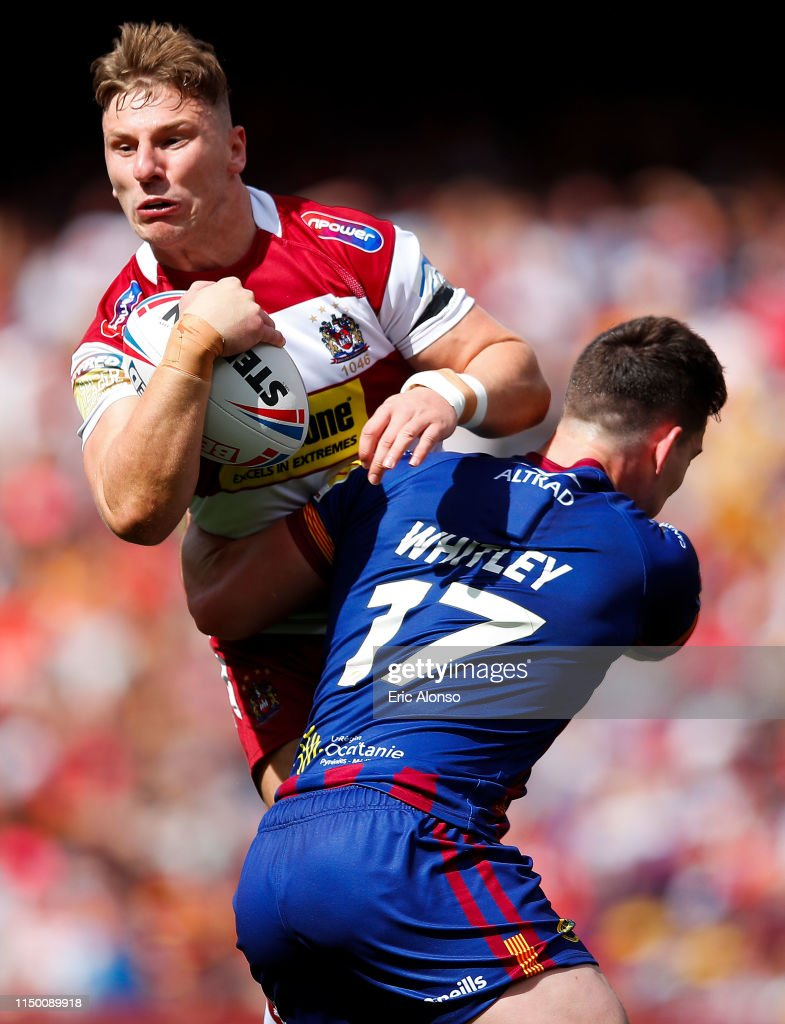 Catalans Dragons v Wigan Warriors - Betfred Super League : News Photo