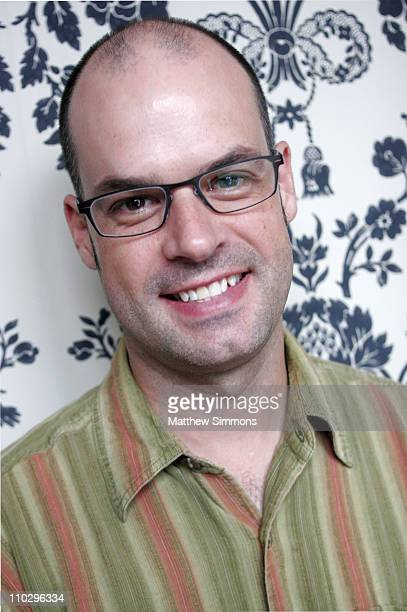 George Wing, screenwriter during 2006 Diesel Portrait Studio Presented by Inside Entertainment and Wireimage - Day 6 at Portrait Studio in Toronto,...