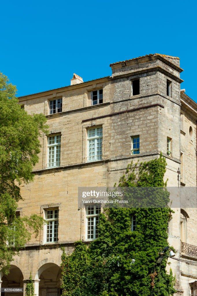 Georges Borias museum, , Uzes, Gard, Occitanie, France : Stock Photo