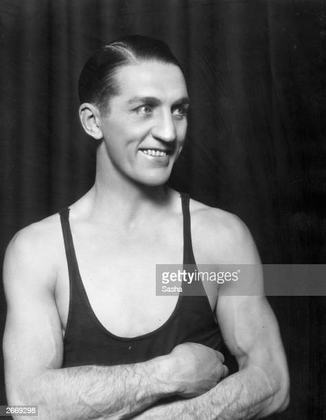 Georges Carpentier of France who won boxing titles at almost every weight including the French Lightweight Welterweight and Heavyweight titles...