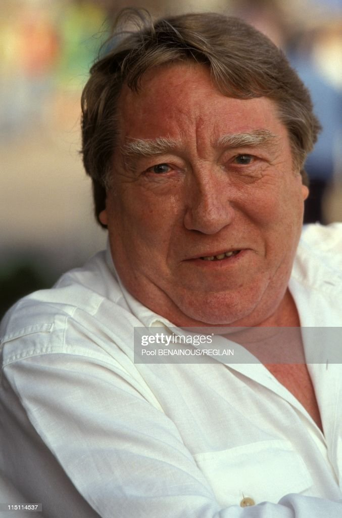 Georges Delerue In Cannes In Cannes, France On May 15, 1991. : Nieuwsfoto's