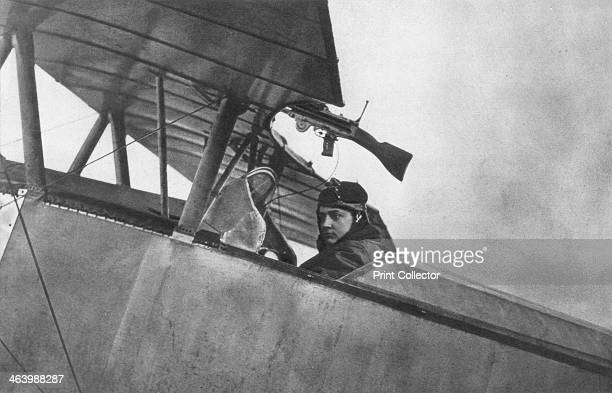 Georges Guynemer, French fighter ace, c1916. Guynemer became the first French ace to attain 50 victories, a mark he reached at the end of July 1917....