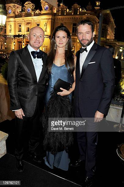 Georges Kern Jessica Adams and James Purefoy attend 'The Soiree Monegasque' hosted by Roger Dubuis CEO Georges Kern to launch 'Le Monegasque' range...