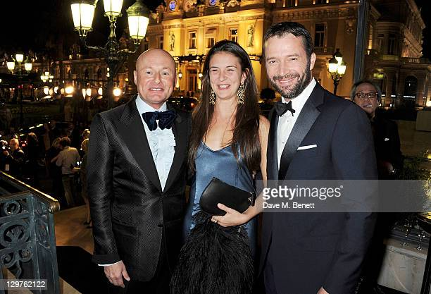 Georges Kern, Jessica Adams and James Purefoy attend 'The Soiree Monegasque' hosted by Roger Dubuis CEO Georges Kern to launch 'Le Monegasque' range...