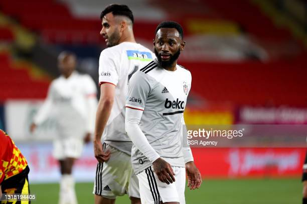 Georges Kevin Nkoudou Mbida of Beskitas during the Turkish Super Lig match between Goztepe and Besiktas at Goztepe Gursel Aksel Stadi on May 15, 2021...