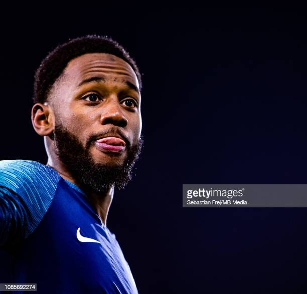 Georges Kevin Nkoudou of Tottenham Hotspur looks on during the Premier League match between Fulham FC and Tottenham Hotspur at Craven Cottage on...