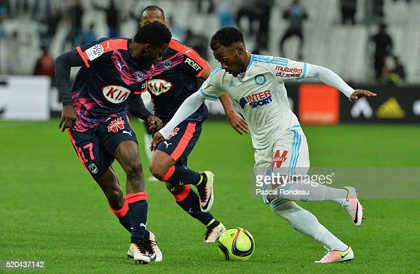 Georges Kévin Nkoudou Mbida from Marseille during the French League 1 match between Olympique de Marseille and FC Girondins de Bordeaux at Stade...