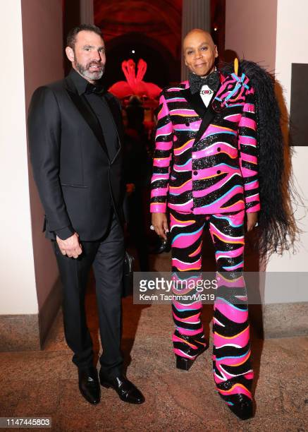Georges LeBar and RuPaul attend The 2019 Met Gala Celebrating Camp Notes on Fashion at Metropolitan Museum of Art on May 06 2019 in New York City