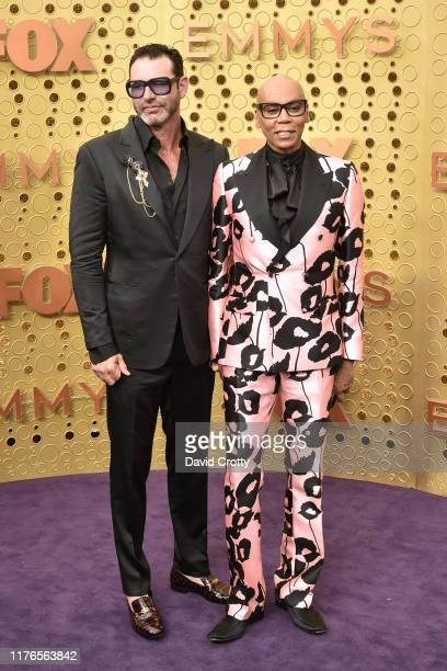 Georges LeBar and RuPaul attend the 71st Emmy Awards at Microsoft Theater on September 22 2019 in Los Angeles California