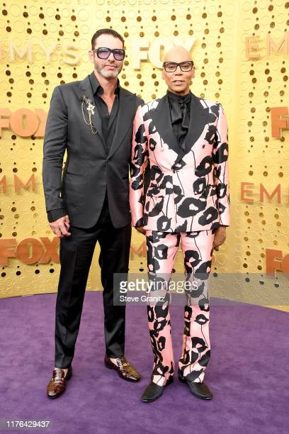 Georges LeBar and RuPaul attend the 71st Emmy Awards at Microsoft Thea ter on September 22, 2019 in Los Angeles, California.