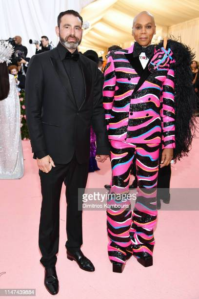 Georges LeBar and RuPaul attends The 2019 Met Gala Celebrating Camp Notes on Fashion at Metropolitan Museum of Art on May 06 2019 in New York City
