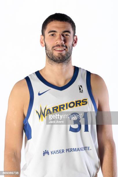 Georges Niang of the Santa Cruz Warriors poses for a head shot during the NBA GLeague media day on October 31 2017 at Kaiser Permanente Arena in...