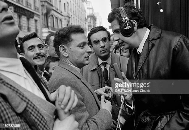 Georges Perec 1965 Renaudot Prize For 'Les Choses' 22 novembre 1965 A l'occasion du succès de son livre 'Les Choses' Georges PEREC reçoit le Prix...