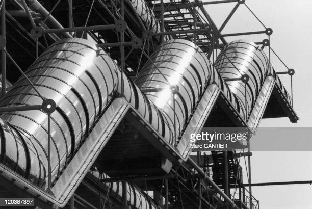 Georges Pompidou center in Paris France