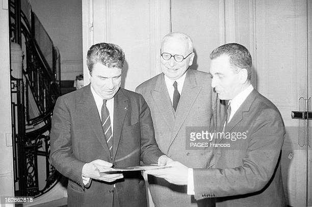 Georges Pompidou Composing His Government France Paris 20 février 1969 le président de la république française Georges Pompidou reçoit différentes...