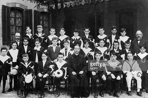 Georges Pompidou in France - Class photo of Georges Pompidou.