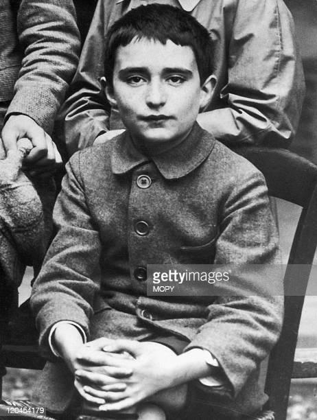 Georges Pompidou in France in 1922 In Albi