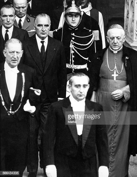 Georges Pompidou In Vaticano. 1970.