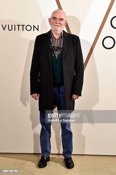 Georges Tony Stoll attends the 'Volez Voguez Voyagez Louis Vuitton' Exhibition Opening at Le Grand Palais on December 3 2015 in Paris France