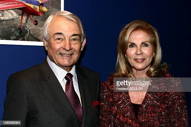 Georges Tranchant and his wife in Le Bourget France on December 16th 2004