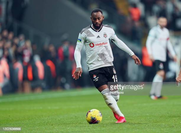 GeorgesKevin N'Koudou of Besiktas during Besiktas against Trabzonspor on Vodafone Park Istanbul Turkey on February 22 2020