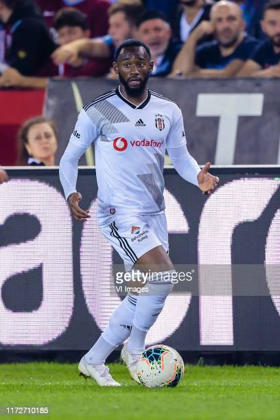 Georges-Kevin N'Koudou of Besiktas JK during the Turkish Spor Toto Super Lig match between Trabzonspor AS and Besiktas AS at the Senol Gunes stadium...