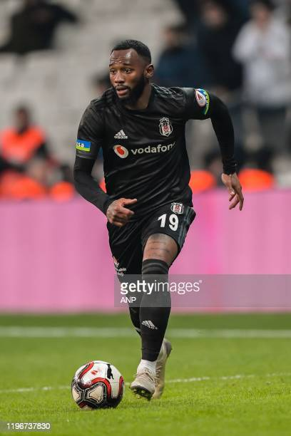 Georges-Kevin N'Koudou of Besiktas JK during the Ziraat Turkiye Kupasi match between Besiktas AS and BB Erzurumspor at the Vodafone Park on January...