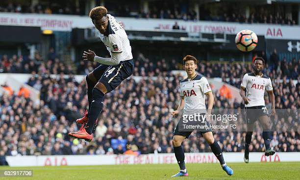 GeorgesKévin N'Koudou of Tottenham during the Emirates FA Cup Fourth Round match between Tottenham Hotspur and Wycombe Wanderers at White Hart Lane...