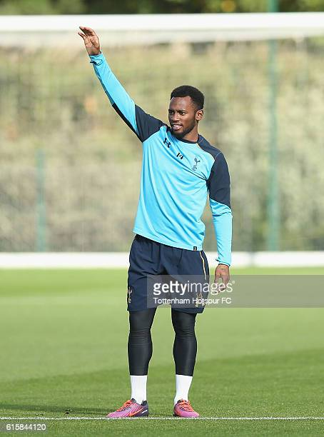 GeorgesKévin N'Koudou of Tottenham during the Tottenham Hotspur training session at Tottenham Hotspur Training Centre on October 20 2016 in Enfield...