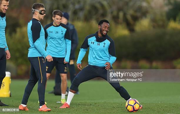 GeorgesKévin N'Koudou of Tottenham during the Tottenham Hotspur training session at Tottenham Hotspur Training Centre on November 17 2016 in Enfield...