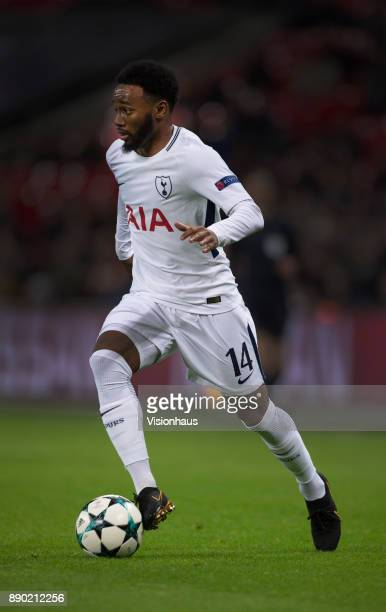 Georges-Kévin N'Koudou of Tottenham Hotspur in action during the UEFA Champions League group H match between Tottenham Hotspur and APOEL Nikosia at...