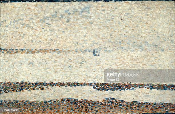 GeorgesPierre Seurat French school Beach at Gravelines